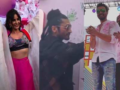 Celebs at Zoom Holi Fest 2019