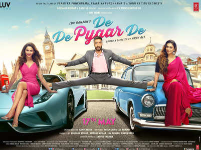 'De De Pyaar De' first look poster is out!