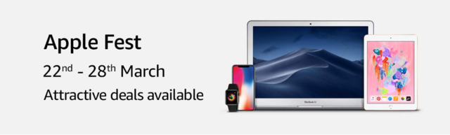 Apple Fest on Amazon: iPhones starting at Rs 27,999 and more