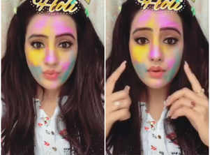 Watch: Bhojpuri actress Akshara Singh's adorable Holi video