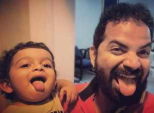 Check out the cute dance of Vinay Forrt and his adorable son