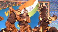 Students pay tribute to Pulwama martyrs at IIS University's annual function