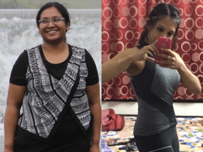 "Weight loss: ""I looked like a 40-year-old woman in my 20s"""