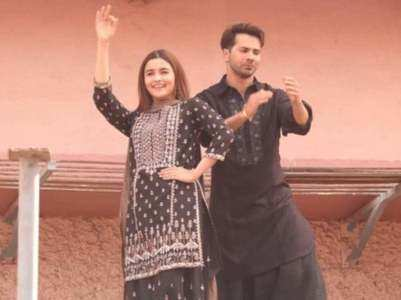 "Varun-Alia makes a ""First Class"" entry"