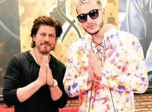 DJ Snake calls SRK a Legend