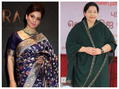 Kangana to play J Jayalalithaa in Thalaivi'