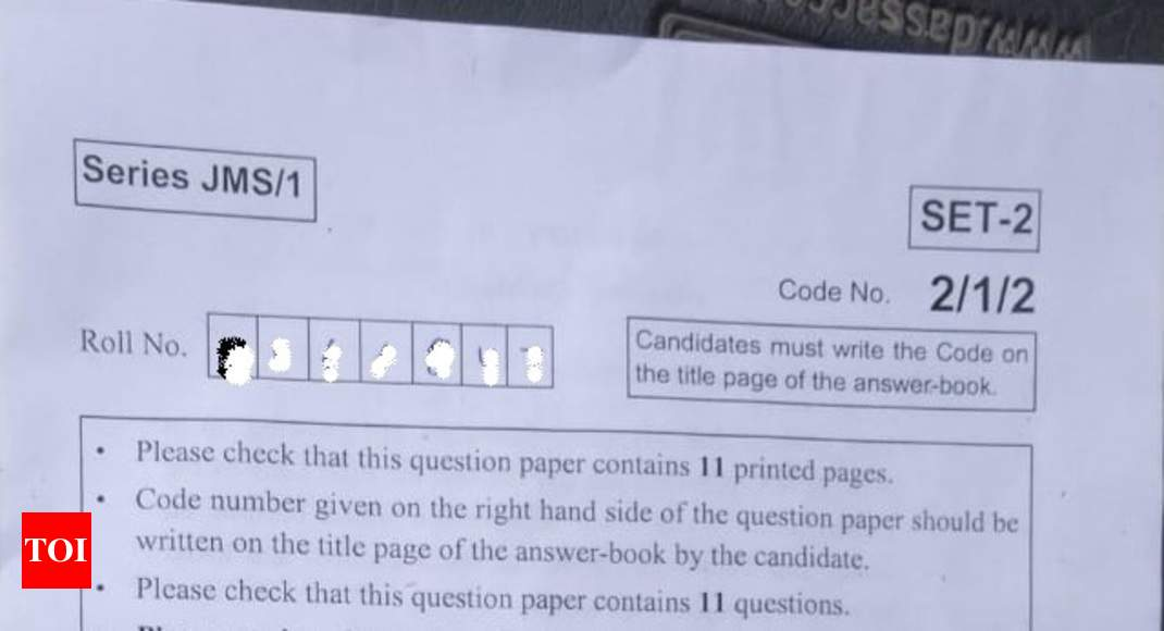 CBSE 10th English question paper 2019: Here's the complete