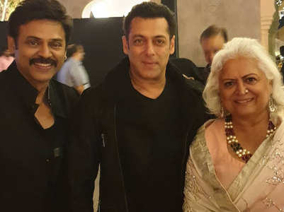 Salman at wedding of Venkatesh's daughter