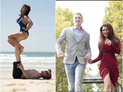 See Aashka, Brent's inspiring yoga pics