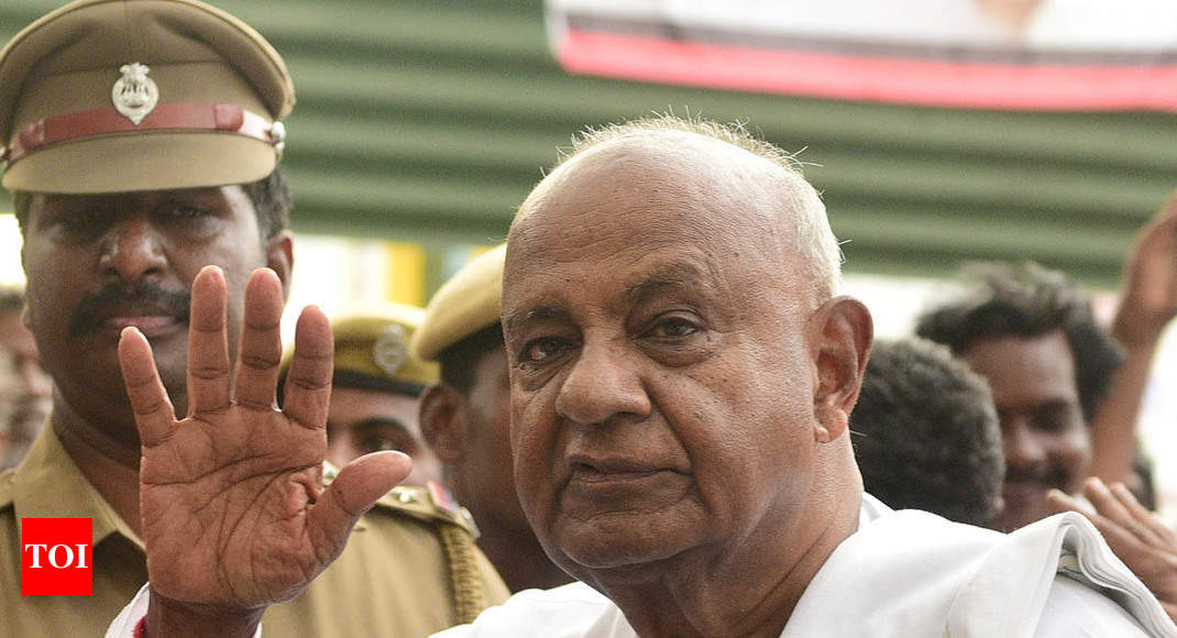 Lok Sabha polls: H D Deve Gowda to contest from Tumkur; sitting Congress MP objects -