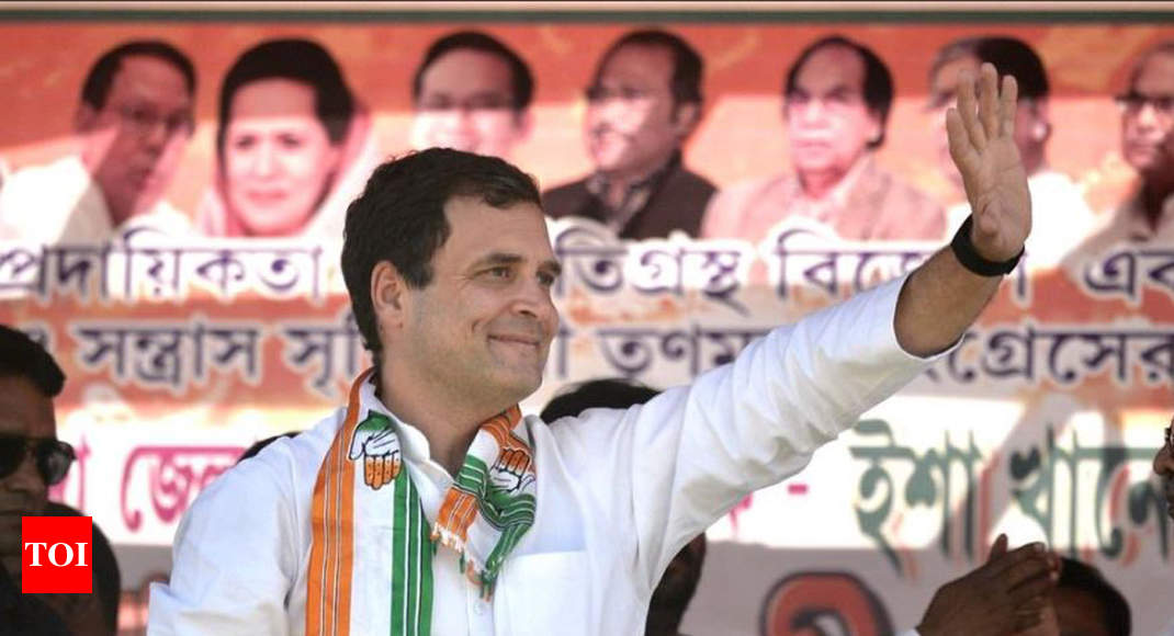 In Bengal, Rahul Gandhi trains guns on PM Modi, Mamata Banerjee -