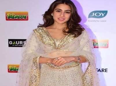 Sara Ali Khan makes a stunning appearance