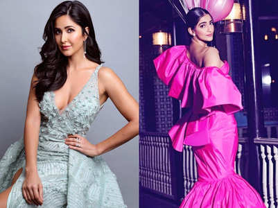 Kajol, Katrina Kaif and Sonam Kapoor make a stylish entry