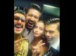 Alia Bhatt, Ranveer Singh, Vicky Kaushal and Karan Johar pose for a cool selfie at the 64th Vimal Elaichi Filmfare Awards 2019