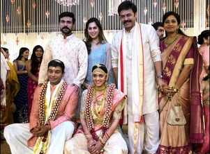 Inside Photos! Venkatesh's daughter Aashritha ties the knot with Vinayak Reddy at Jaipur