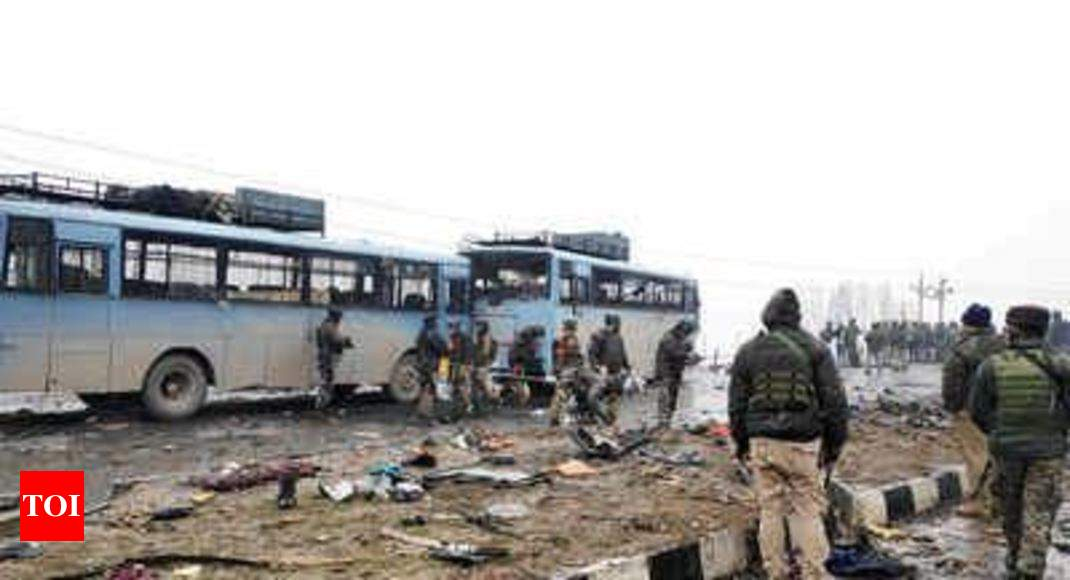 Virtual SIMs used in Pulwama terror attack; India to approach US for help - Times of India