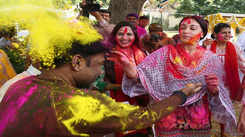 Holi festivities, the royal style