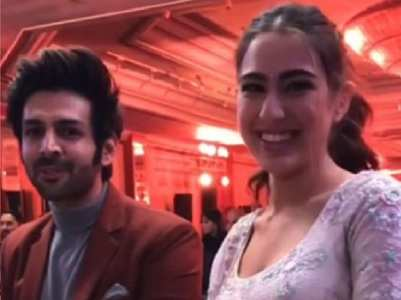 Watch: Sara Ali Khan and Kartik Aaryan new video