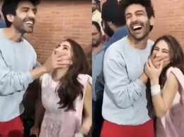 This is how Kartik Aaryan shut up Sara Ali Khan after she screamed his name in public