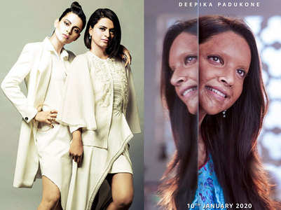 Kangana's sister pledges support to 'Chhapaak'