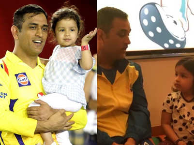 WATCH: MS Dhoni asks Ziva 'How are you' in five languages!