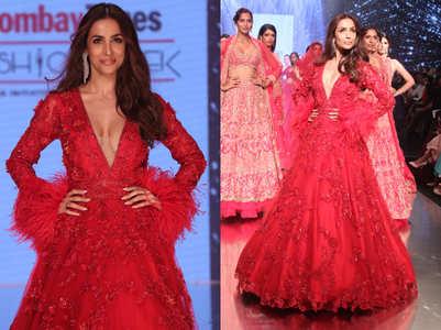 Malaika Arora's hot bridal gown is going to trend this wedding season