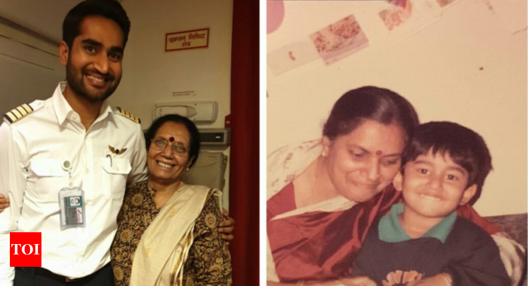 After 30 years, 'Capt Rohan' takes playschool teacher on a flight to Chicago - Times of India