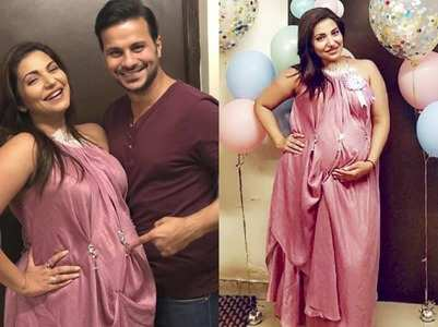 Pics from pregnant Navina Bole's pop-up party