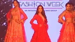 Kalki unveils SS-19 collection 'Zinnia' at BTFW 2019