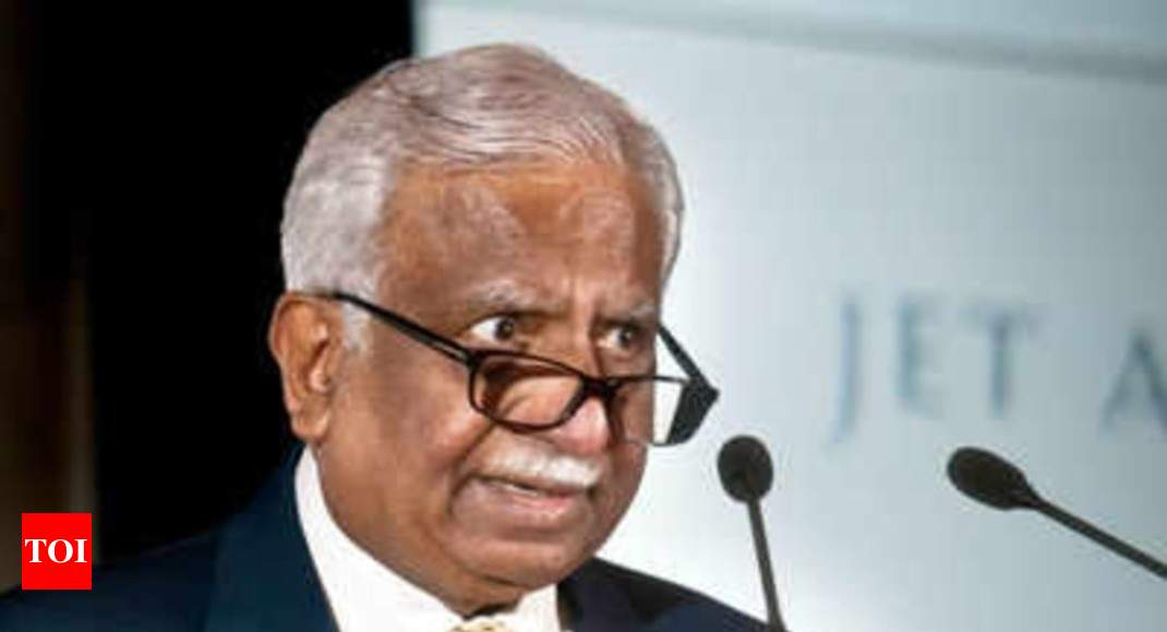 Time has come to pass on the baton, an emotional Naresh Goyal tells Jet Airways' employees - Times of India