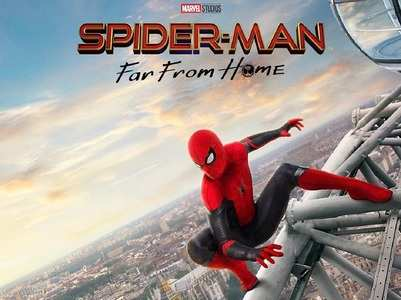 'Spider-Man: Far From Home' poster are out!