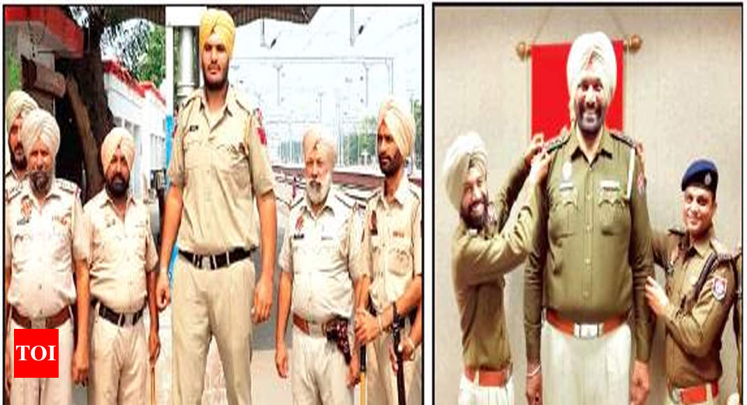 Are these Punjab policemen law enforcers of the longest reach? - Times of India