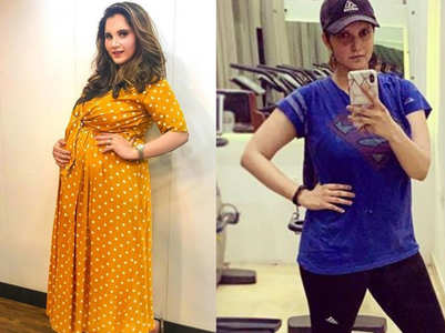 How Sania Mirza lost 22 kilos in 5 months post pregnancy
