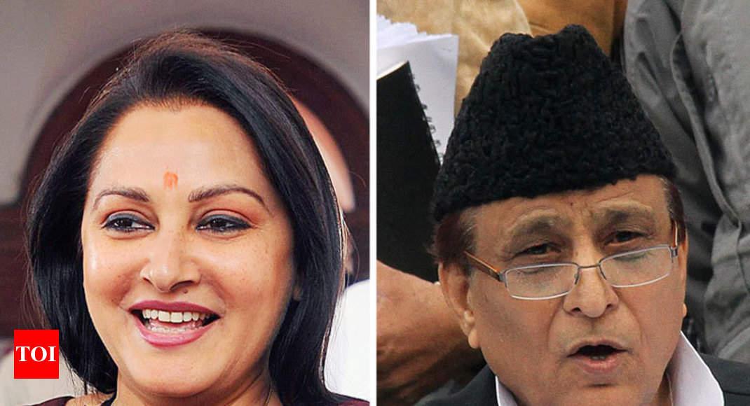 BJP's Jaya Prada vs SP's Azam Khan in Rampur -