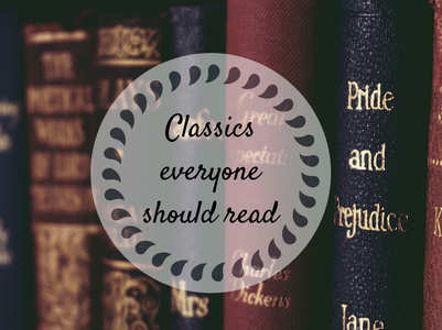 13 classics everyone should read