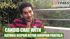 Actor Nirupam Paritala on Karthika Deepam, his co-stars and much more