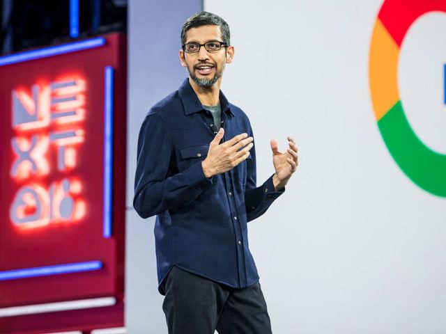 Thanks to Donald Trump, Sundar Pichai is Google 'president'