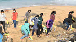 Cleaning up the beaches