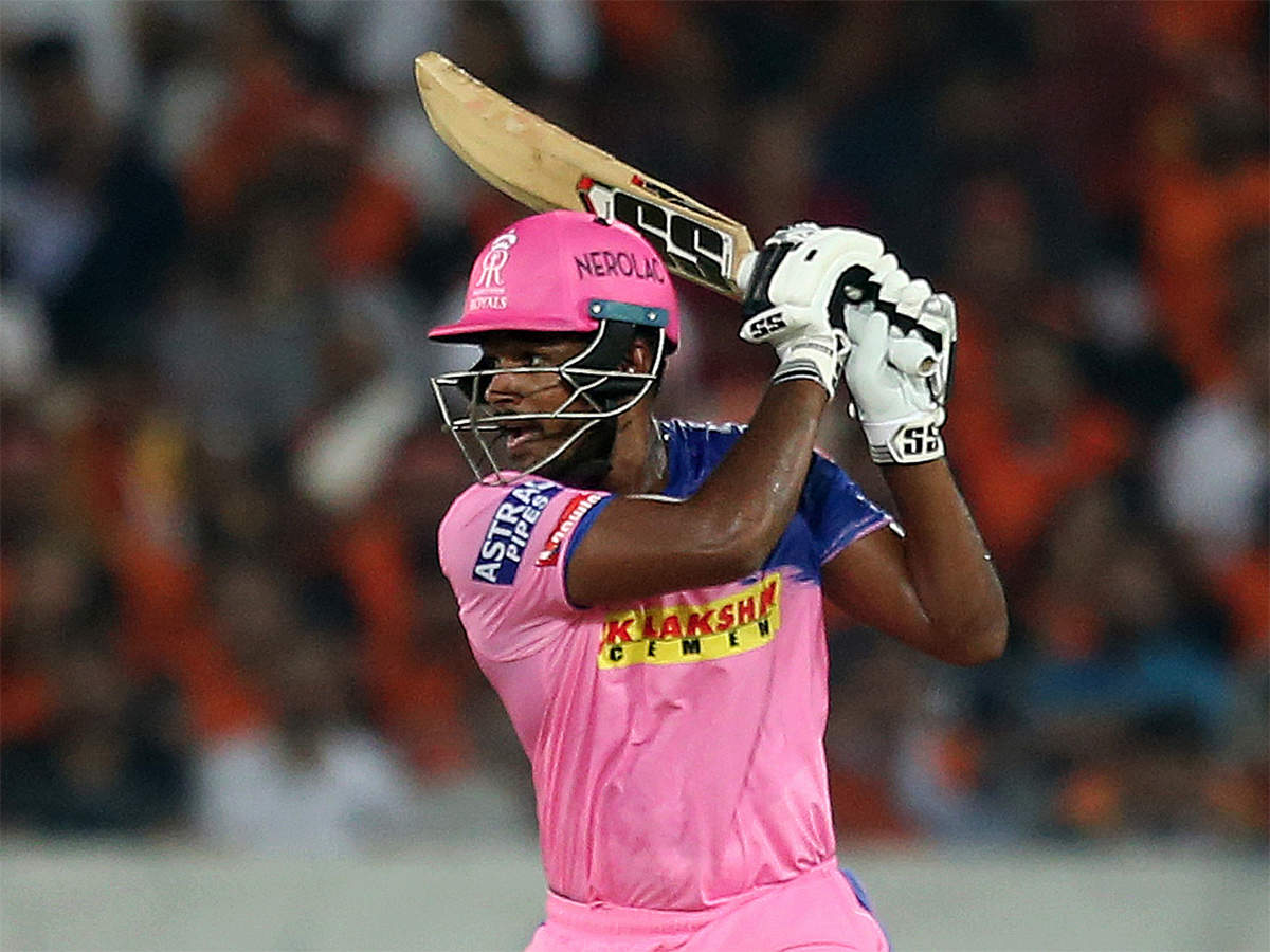 Sanju Samson scores first century of IPL 2019   Cricket News - Times of  India