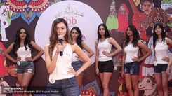 Janki Bodiwala's introduction at Miss India 2019 Gujarat audition