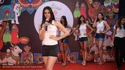 Mansi Taxak's introduction at Miss India Gujarat audition