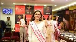 Miss India 2019 North winners at Senco Store in Delhi