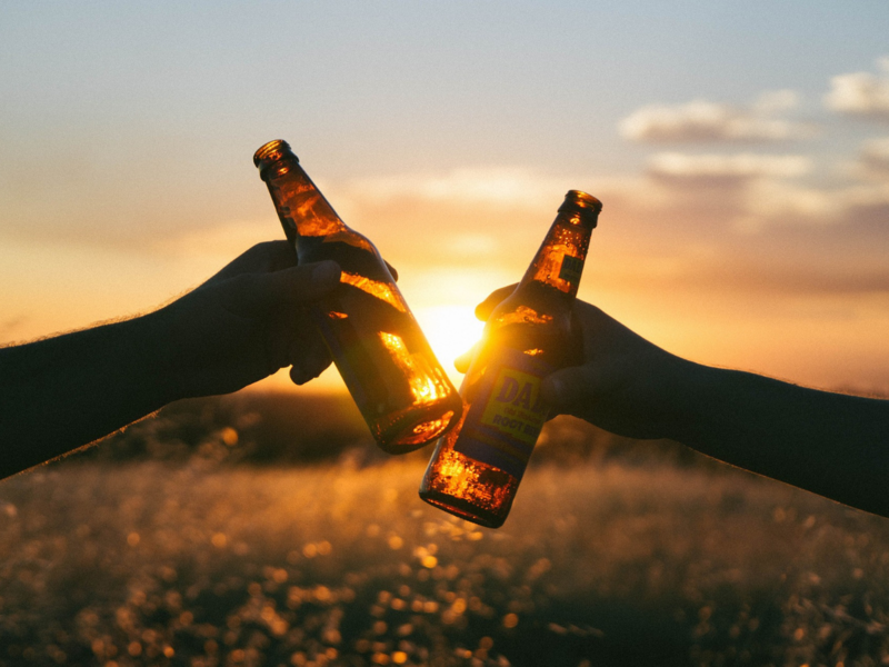 Is drinking beer really beneficial for your health