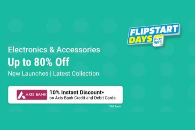 Flipstart Days sale on Flipkart: Get up to 80% off on laptops, televisions and other electronics