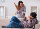 My husband flirts with other women after he gets drunk
