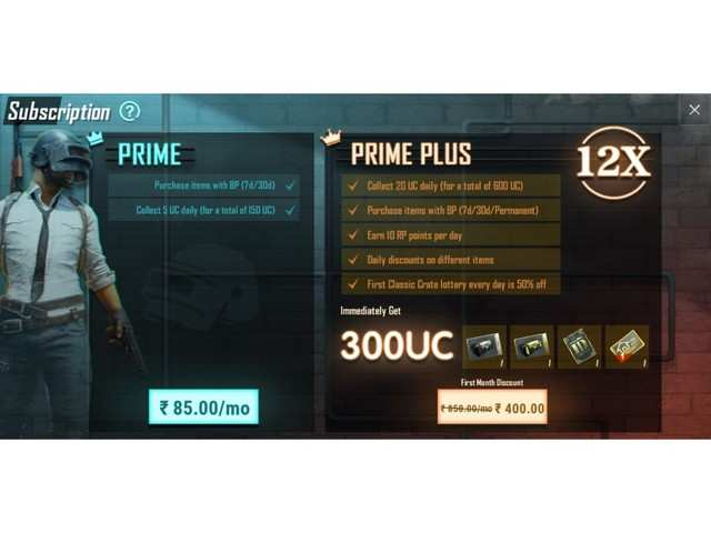 PUBG Mobile Prime and Prime Plus subscriptions are now live, here's everything you need to know