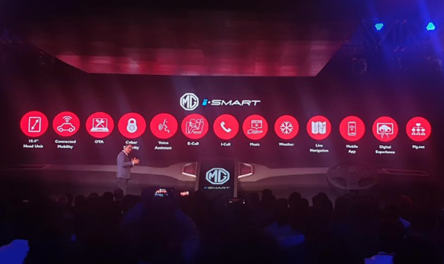 MG Motor announces iSMART 5G-ready internet connected car tech; MG Hector to arrive by June