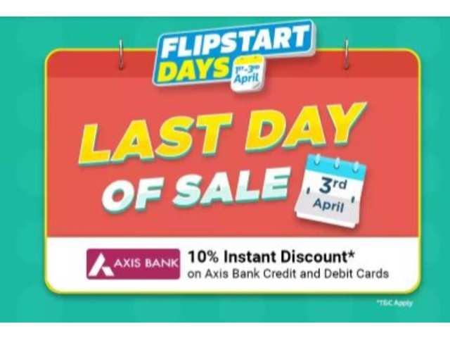 Last day of Flipstart sale on Flipkart: Laptops, TVs, speakers and other accessories you can buy at discount