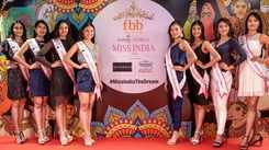 Unveiling of Miss India 2019 North East finalists