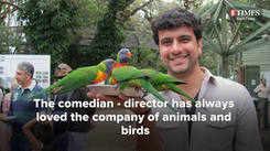Ramesh Pisharody loves animals